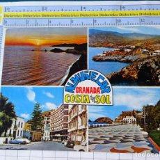 Postales: POSTAL DE GRANADA. AÑO 1969. ALMUÑÉCAR. 6241 BEASCOA. 116. Lote 234529770