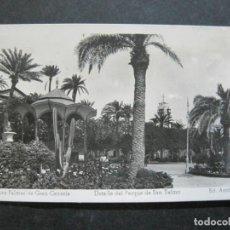 Postales: LAS PALMAS DE GRAN CANARIA-PARQUE DE SAN TELMO-ARRIBAS FOTOGRAFICA-POSTAL ANTIGUA-(76.788). Lote 234560670