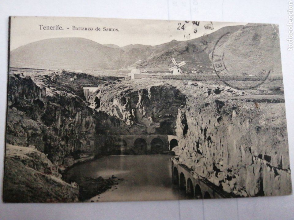 TENERIFE BARRANCO DE SANTOS NOBREGAS ENGLISH BAZAR NÚMERO 29 (Postales - España - Canarias Antigua (hasta 1939))