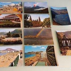 Postales: LOTE 10 POSTALES AÑOS 80, CANARIAS - EDIT. SICILIA, ZARAGOZA. Lote 234965060