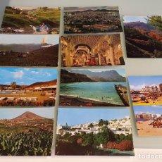 Postales: LOTE 10 POSTALES AÑOS 80, CANARIAS - EDIT. SICILIA, ZARAGOZA. Lote 234965630