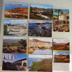 Postales: LOTE 10 POSTALES AÑOS 80, CANARIAS - EDIT. SICILIA, ZARAGOZA. Lote 234965890