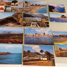 Postales: LOTE 10 POSTALES AÑOS 80, CANARIAS - EDIT. SICILIA, ZARAGOZA. Lote 234966025