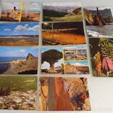 Postales: LOTE 10 POSTALES AÑOS 80, CANARIAS - EDIT. SICILIA, ZARAGOZA. Lote 234966160