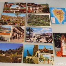 Postales: LOTE 10 POSTALES AÑOS 80, CANARIAS - VARIAS EDITORIALES. Lote 234966325