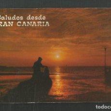 Postales: POSTAL CIRCULADA - CANARIAS - EDITA HOLIDAYS. Lote 235025530
