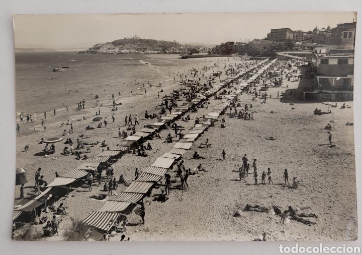 SANTANDER. PRIMERA PLAYA DESDE PIQUIO. EDICIONES ARRIBAS.ZARAGOZA (Postales - España - Canarias Moderna (desde 1940))