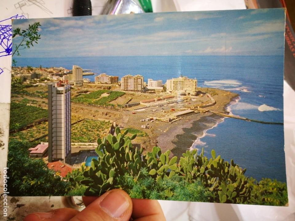 POSTAL PUERTO DE LA CRUZ TENERIFE VISTA PANORÁMICA DE LOS HOTELES DE TURISMO N 258 RO FOTO S/C (Postales - España - Canarias Moderna (desde 1940))