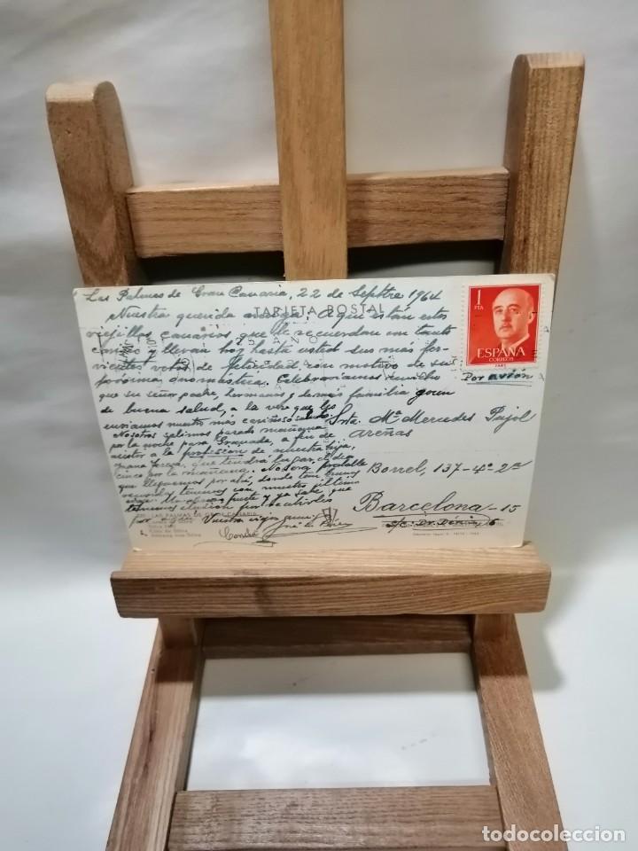 Postales: POSTAL LAS PALMAS DE GRAN CANARIAS CUESTA DE SILVA CIRCULADA - Foto 2 - 235782615