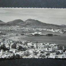 Postales: LAS PALMAS DE GRAN CANARIA-CIUDAD JARDIN Y PUERTO DE LA LUZ-ED·L.MONTAÑES-POSTAL ANTIGUA-(77.010). Lote 236446135