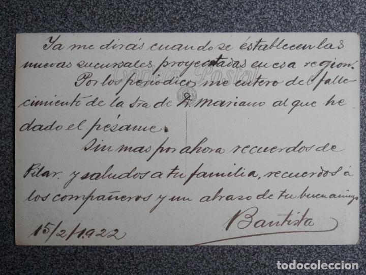 Postales: CANARIAS TENERIFE EL TEIDE CUEVA DEL HIELO POSTAL FOTOGRÁFICA MUY RARA AÑO 1922 - Foto 2 - 239353465