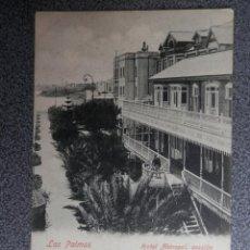 Postales: LAS PALMAS CANARIAS HOTEL METROPOL POSTAL ANTERIOR A 1905. Lote 239353545