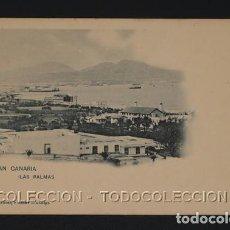 Postales: POSTAL CANARIAS GRAN CANARIA LAS PALMAS - 464 HAUSER Y MENET - CA 1900. Lote 243023945