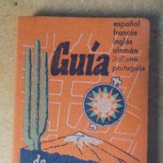 Postales: 1958 GUÍA DE TENERIFE CASI NUEVA DEL PAQUETE. Lote 244408410