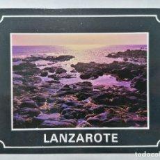 Postales: POSTAL LANZAROTE, MAREA BAJA, AÑOS 80. Lote 244464565