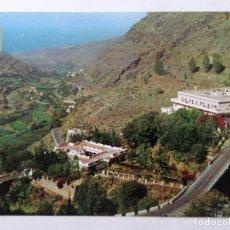 Postales: POSTAL AGAETE GRAN CANARIA, LOS BERRAZALES, BALNEARIO, AÑOS 80. Lote 244465265