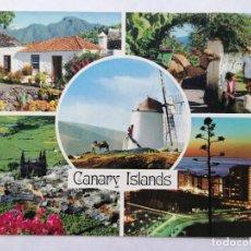 Postales: POSTAL ISLAS CANARIAS, AÑOS 70. Lote 244465880