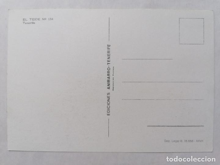 Postales: POSTAL TENERIFE, EL TEIDE, AÑOS 70 - Foto 2 - 244466215