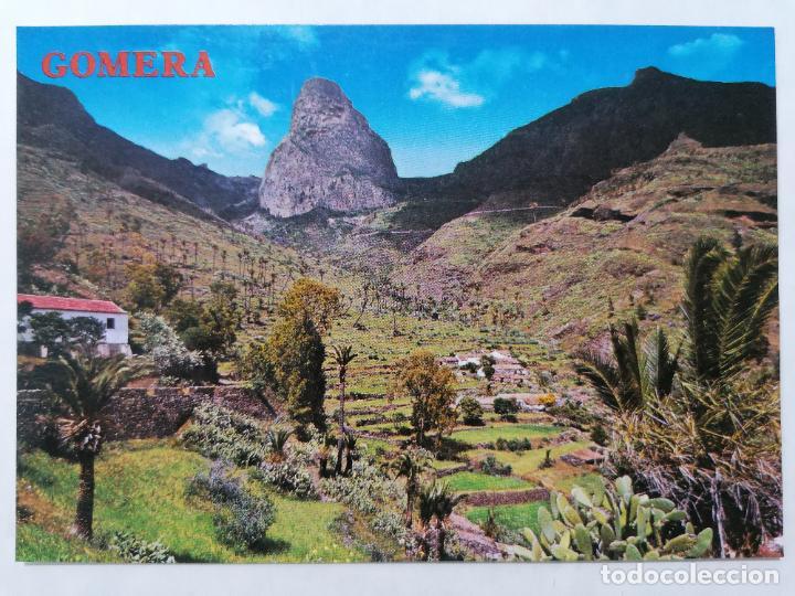 POSTAL GOMERA, BENCHIJIGUA, ROQUE AGANDO, AÑOS 70 (Postales - España - Canarias Moderna (desde 1940))