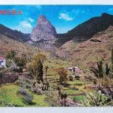 Postales: POSTAL GOMERA, BENCHIJIGUA, ROQUE AGANDO, AÑOS 70. Lote 244466290