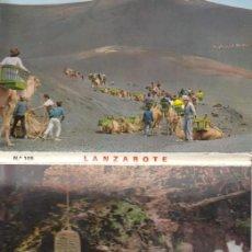Postales: (6) CARTERILLA PLEGABLE 7 POSTALES LA ISLA DE LOS VOLCANES - LANZAROTE. Lote 244830405