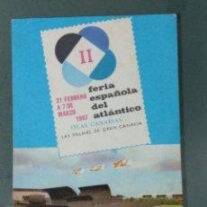 Postales: POSTAL II FERIA ESPAÑOLA DEL ATLANTICO 1967. NO CIRCULADA.. Lote 244850970