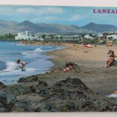 Postales: POSTAL LANZAROTE PUERTO DEL CARMEN. LA PLAYA. 20149. Lote 245025255