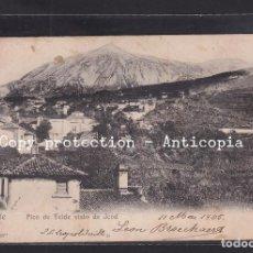Postales: POSTAL DE ESPAÑA - TENERIFE PICO DE TEIDE VISTO DE ICOD. Lote 245051620
