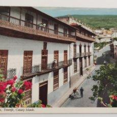 Postales: POSTAL LA OROTAVA TENERIFE ISLAS CANARIAS. LOS BALCONES.. Lote 245100755