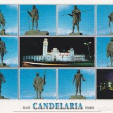 Postales: TENERIFE, CANDELARIA Y SUS MENCEYES - SOFOTO GT4029 - S/C - (17X12). Lote 245166810