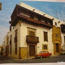 Postales: POSTAL LAS PALMAS- CASA DE COLON COCHES. Lote 245237565