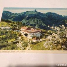 Postales: GRAN CANARIA - POSTAL PARADOR NACIONAL DE TEJEDA. Lote 245261115