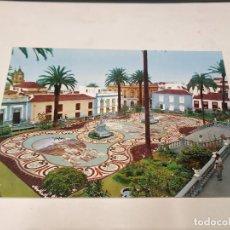Postales: TENERIFE - POSTAL LA OROTAVA - ALFOMBRA HECHA CON PIEDRAS DEL TEIDE. Lote 245263385