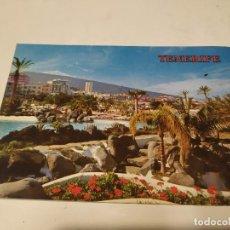 Postales: TENERIFE - POSTAL PUERTO DE LA CRUZ - LAGO MARTIÁNEZ. Lote 245264855