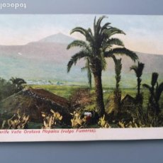 Cartoline: POSTAL TENERIFE Nº 4143 OROTAVA NOPALES VULGO FUMERAS ISLAS CANARIAS BUENA CONSERVACION. Lote 245544255