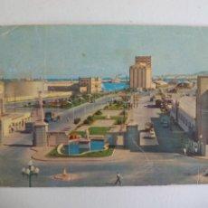 Postales: POSTAL. 42. LAS PALMAS DE GRAN CANARIA. ENTRADA MUELLES PUERTO LA LUZ. AÑOS 60. ESCRITA . POST CARD.. Lote 246205800