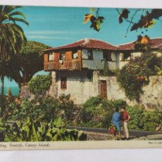 Postales: POSTAL A TYPICAL DWELLING TENERIFE CANARY ISLANDS. Lote 246274335