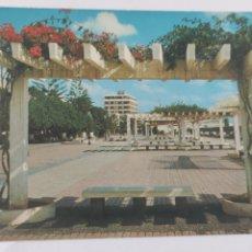 Postales: POSTAL LANZAROTE ARRECIFE PARQUE. VISTA PARCIAL.. Lote 246275950