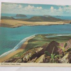 Postales: POSTAL LA GRACIOSA CANARY ISLANDS. Lote 246281230