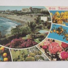 Postales: POSTAL SOUVENIR DE SAN AGUSTÍN. Lote 246282880