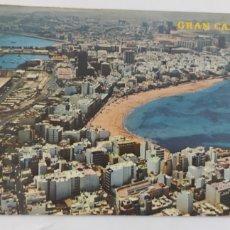 Postales: POSTAL. GRAN CANARIA. 1033. VISTA AÉREA DE LAS CANTERAS.. Lote 246283495