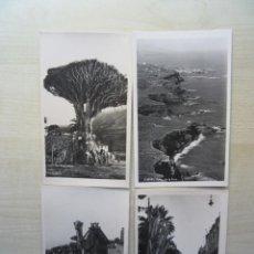 Cartes Postales: 10 POSTALES DE TENERIFE POSIBLE AÑOS 50-60. Lote 253289870