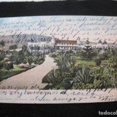 Postales: GRAN CANARIA-SANTA CATALINA HOTEL-REVERSO SIN DIVIDIR-BAZAR ALEMAN-POSTAL ANTIGUA-(79.580). Lote 253546565