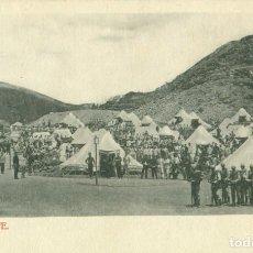 Postales: TENERIFE. MILITAR. SOLDADOS EN EL CAMPAMENTO. HACIA 1910.MUY RARA.. Lote 253549770