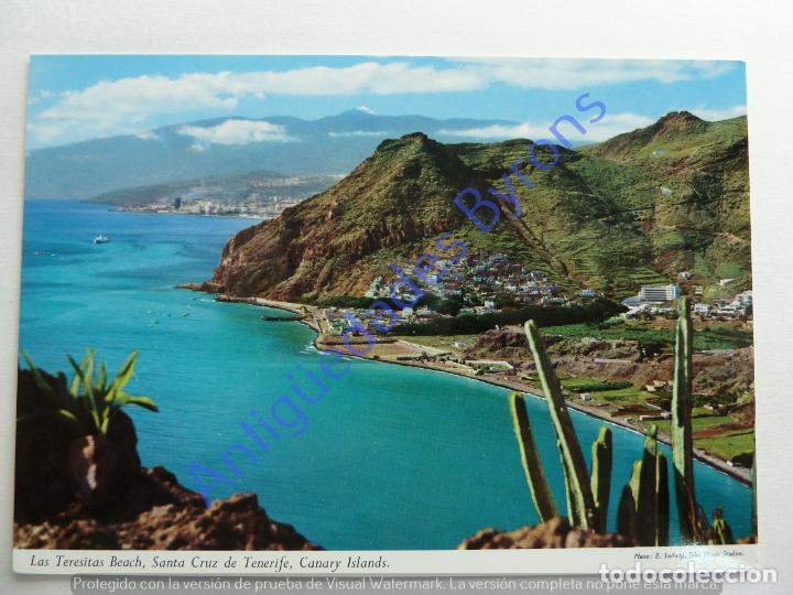 PLAYA DE LAS TERESITAS. SANTA CRUZ DE TENERIFE. JOHN HINDE (Postales - España - Canarias Moderna (desde 1940))