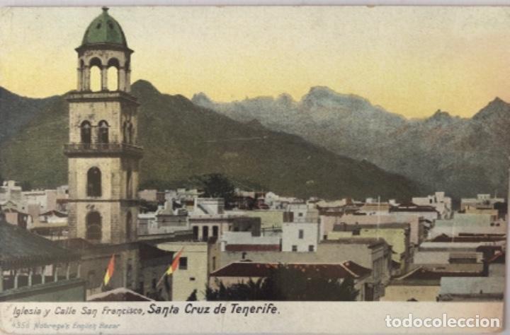POSTAL DE SANTA CRUZ DE TENERIFE.ISLAS CANARIAS (Postales - España - Canarias Antigua (hasta 1939))