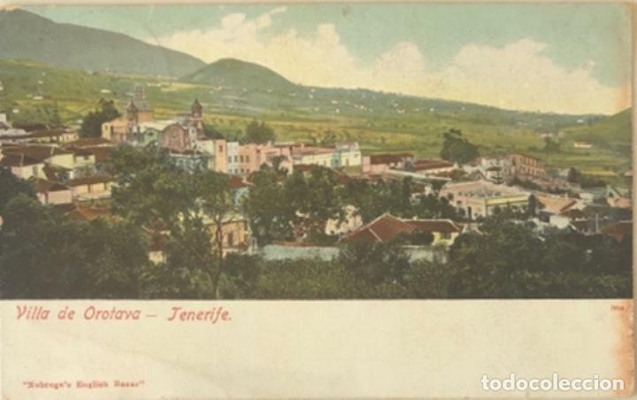 POSTAL DE TENERIFE.ISLAS CANARIAS 1906 (Postales - España - Canarias Antigua (hasta 1939))