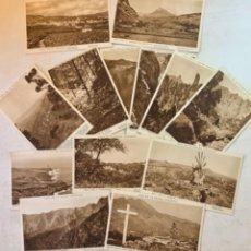 Postales: 13 POSTALES - ISLA DE LA PALMA - CANARIAS - COLECCIÓN CABILDO INSULAR LA PALMA - ISLAS CANARIAS. Lote 254997050