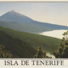 Postales: (59) TENERIFE . VISTA DEL TEIDE DESDE LA CARRETERA DORSAL. Lote 256047925