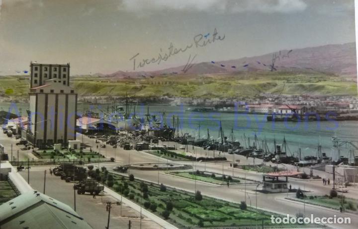 LAS PALMAS DE GRAN CANARIA. MUELLES DEL PUERTO DE LA LUZ (Postales - España - Canarias Moderna (desde 1940))